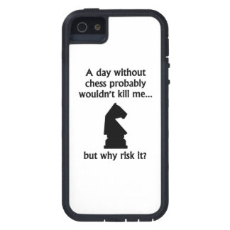 A Day Without Chess iPhone 5 Case