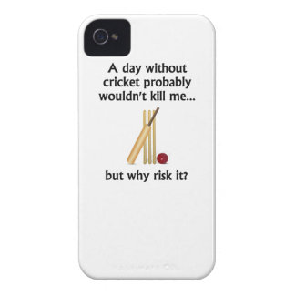 A Day Without Cricket iPhone 4 Case-Mate Case