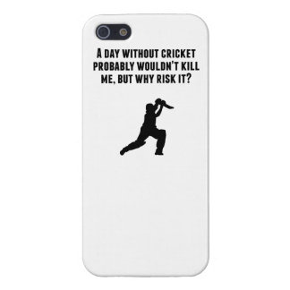 A Day Without Cricket Case For iPhone 5/5S