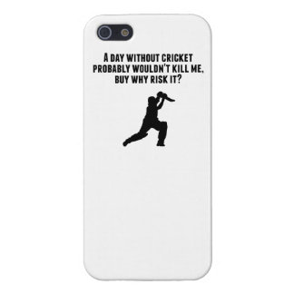 A Day Without Cricket iPhone 5/5S Case