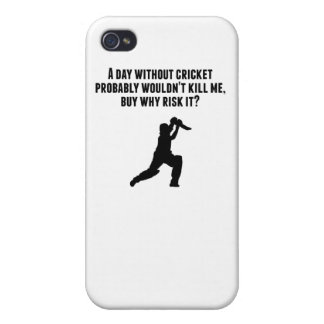 A Day Without Cricket Case For iPhone 4
