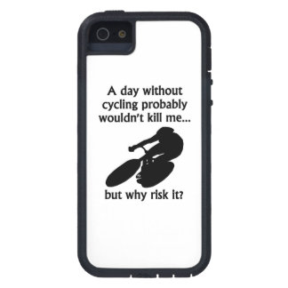A Day Without Cycling Cover For iPhone 5