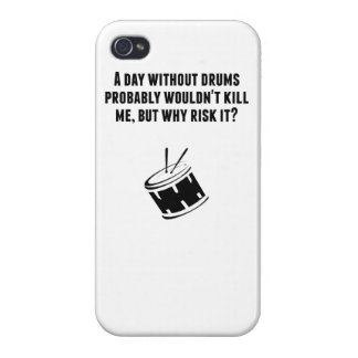 A Day Without Drums Cases For iPhone 4