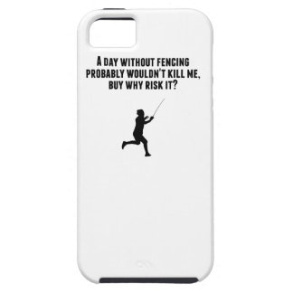 A Day Without Fencing Case For The iPhone 5
