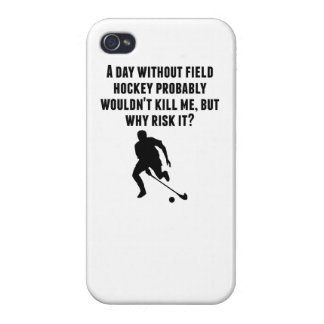 A Day Without Field Hockey iPhone 4/4S Case