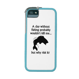 A Day Without Fishing iPhone 5 Case