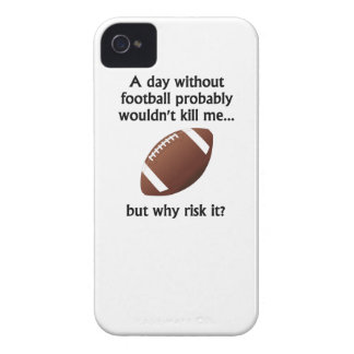 A Day Without Football iPhone 4 Cases