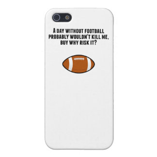 A Day Without Football iPhone 5/5S Cases