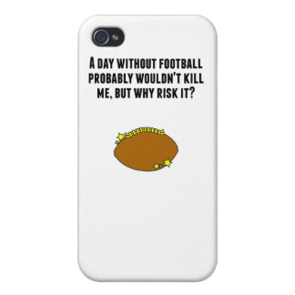 A Day Without Football iPhone 4/4S Case