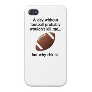 A Day Without Football iPhone 4 Case