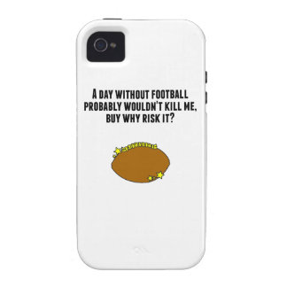 A Day Without Football Vibe iPhone 4 Covers