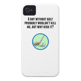 A Day Without Golf Case-Mate iPhone 4 Case