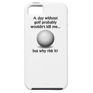 A Day Without Golf iPhone 5 Covers