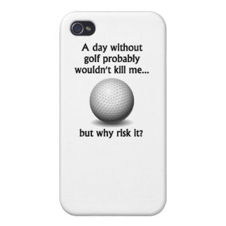 A Day Without Golf iPhone 4 Cover