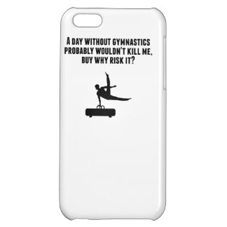 A Day Without Gymnastics iPhone 5C Case
