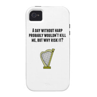 A Day Without Harp iPhone 4 Case
