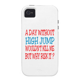 A Day Without High Jump Wouldn't Kill Me Case-Mate iPhone 4 Cases