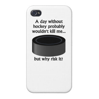 A Day Without Hockey Cases For iPhone 4