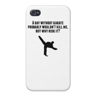 A Day Without Karate Case For iPhone 4
