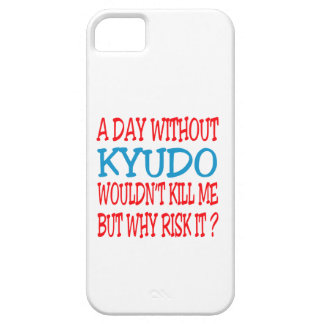 A Day Without Kyudo. iPhone 5 Case