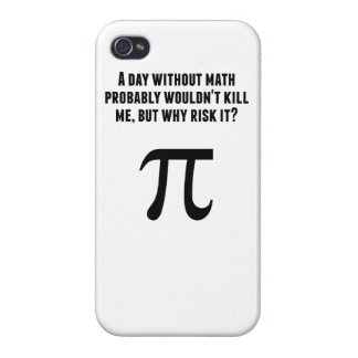 A Day Without Math iPhone 4/4S Covers