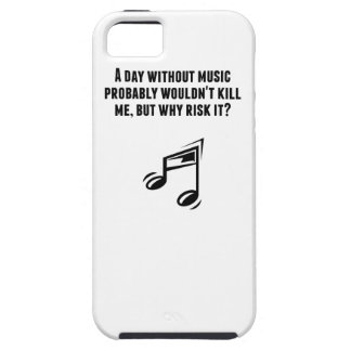 A Day Without Music iPhone 5 Covers
