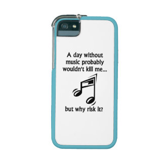 A Day Without Music iPhone 5 Cover