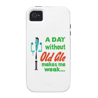 A day without Old Ale make me weak.. Vibe iPhone 4 Case