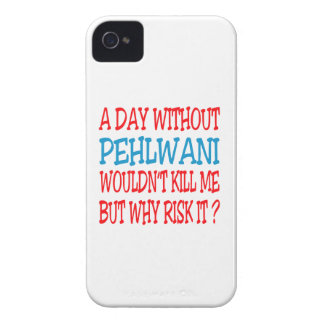 A Day Without Pehlwani. iPhone 4 Cover