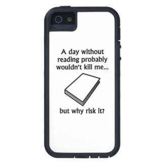 A Day Without Reading iPhone 5 Cases