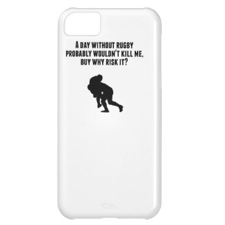 A Day Without Rugby Cover For iPhone 5C