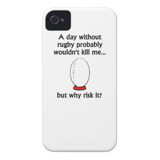 A Day Without Rugby iPhone 4 Case-Mate Case