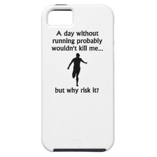 A Day Without Running iPhone 5 Cases