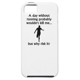 A Day Without Running Case For iPhone 5/5S