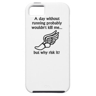 A Day Without Running iPhone 5 Cover