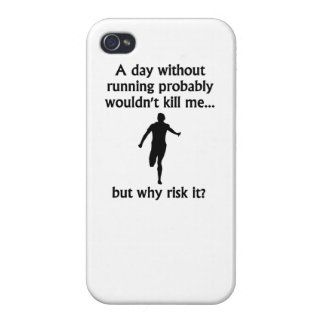 A Day Without Running iPhone 4/4S Cases