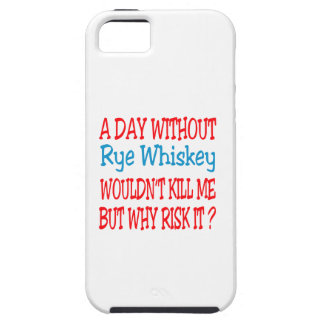 A day without Rye Whiskey wouldn't kill me but why iPhone 5 Cover