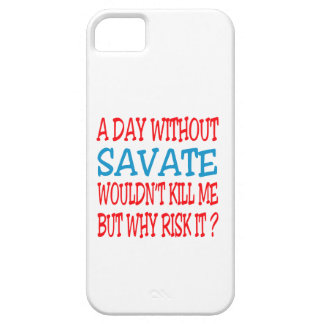A Day Without Savate. iPhone 5 Cases