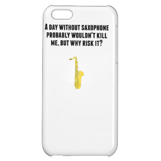 A Day Without Saxophone iPhone 5C Cases