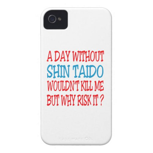 A Day Without Shin Taido. iPhone 4 Case
