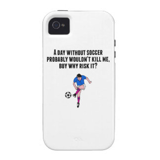 A Day Without Soccer iPhone 4 Cases