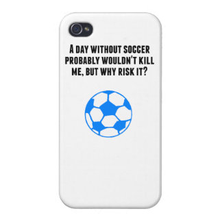 A Day Without Soccer Case For iPhone 4