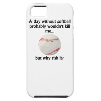 A Day Without Softball iPhone 5/5S Cases