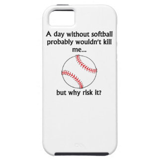 A Day Without Softball iPhone 5 Case