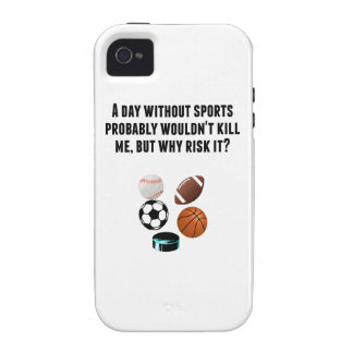 A Day Without Sports iPhone 4 Covers
