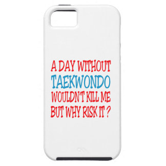 A Day Without Taekwondo. iPhone 5 Covers