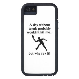 A Day Without Tennis iPhone 5/5S Covers