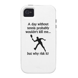 A Day Without Tennis iPhone 4/4S Case