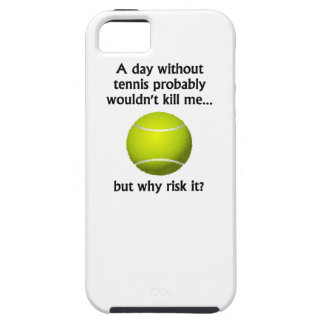 A Day Without Tennis iPhone 5 Cases