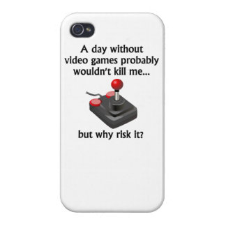 A Day Without Video Games iPhone 4/4S Covers
